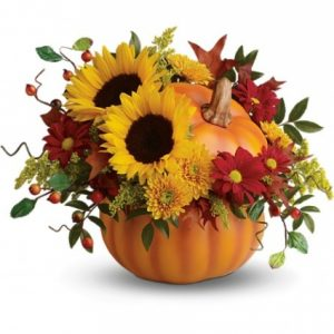 Halloween Flower Bouquet